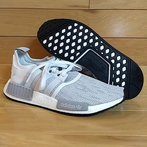 adidas Shoes - Adidas NMD R1 Blizzard White Running Shoe B79759 f6d3791c9